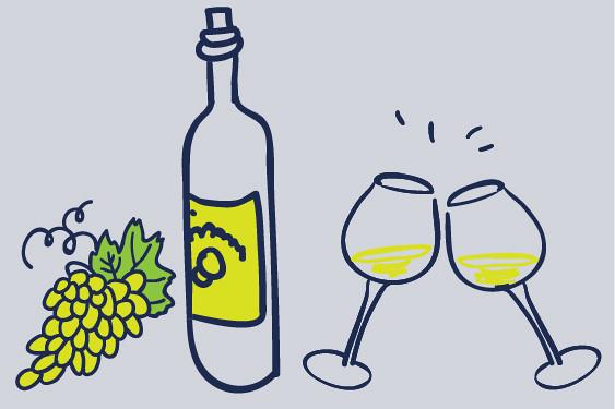 Pinot Grigio, witte wijn