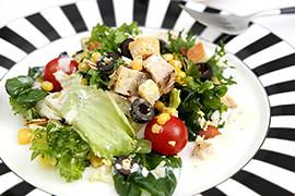 Salade Kipfilet & Bacon