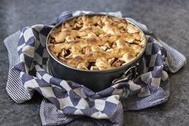 Huisgemaakte appeltaart