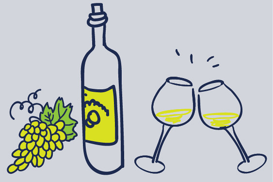 Chardonnay, witte wijn