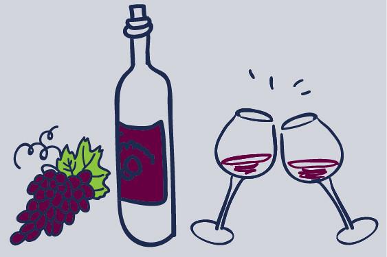 Merlot, rode wijn